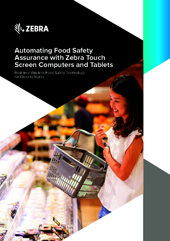 Automating Food Safety Assurance with Zebra Touch Screen